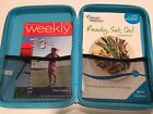 WEIGHT WATCHERS 2010 Getting Started Cookbook 3 Month Journal Zip Up Case Weekly