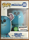 Funko Pop! - Disney Monsters Inc. - Sulley (Flocked) #385 - Amazon Exclusive