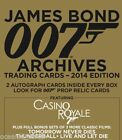 2014 JAMES BOND ARCHIVES FACTORY SEALED BOX OF TRADING CARDS