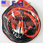 2pcs USA Car Heavy Duty 13ft Power Booster Cable Battery Charging Jumper 1000A