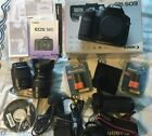 Canon EOS 50D 15.1MP Digital SLR Camera  c/w 2 EF Lenses  & Accessories