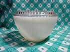 Vintage Fire King Ivory Refrigeration Dish / Lid in Very Good to Excellent Cond