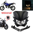 Universal Motorcycle Street Fighter Dirt Bike KTM Headlight Fairing Light Lamp