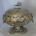Large Antique Silver Plated (Silverplate) Fruit Bowl / Basket