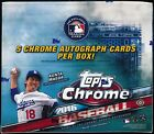 2016 Topps Chrome HTA JUMBO Baseball Factory Sealed Hobby Box (5 Auto's Per Box)