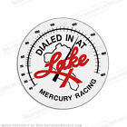 Mercury Racing Dialed in at Lake X Decal Pick Size