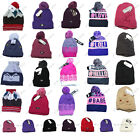 Mothers Day Gift Ladies Winter Warm Hats Ribbed Beanie Thinsulate,Bobble OneSize