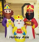 55 Ft THREE KINGS Christmas Airblown Yard Inflatables NATIVITY