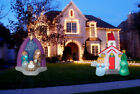 NATIVITY AND CHURCH SCENES Christmas Airblown Yard Inflatables