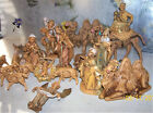 Vintage 1983 Fontanini 45 Nativity Set 18 Figures King on Camel Sitting camel
