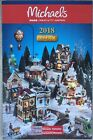 2018 LEMAX Christmas Holiday VILLAGE Michael's Brochure Catalog Flyer NEW