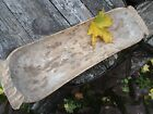 ANTIQUE 19 century HANDMADE DOUGH BOWL PRIMITIVE FOLK ART SCANDINAVIA