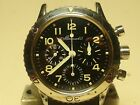 Breguet Vintage Chronograph Type XX;Factory serviced;Papers;FULL SET RARE 200m!