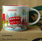 14oz LONDON You Are Here Coffee Mug Collection City Collector Cups