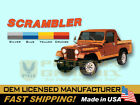 1981 1982 Jeep Scrambler CJ8 Decals  Stripes Kit