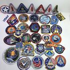 Lot of 36 NASA Space Patches Space Shuttle Columbia Nova Astronauts Missions
