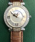 Chopard Imperiale  Leather  Unisex Watch 8532 With Diamonds
