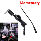 12V Moped Scooter Push Switch Handlebar Momentary Thumb Button for Horn Engine