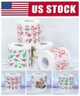 1 Roll Santa Claus Printed Christmas Toilet Paper Tissue Room Party Ornaments