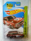 2014 Hot Wheels Super Treasure Hunts 71 DATSUN BLUEBIRD 510 WAGON 206