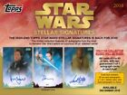 2018 Topps Star Wars Stellar Signatures Hobby Case PRESALE 12 12 18