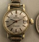 Vintage 1971 Omega Ladymatic 14k Gold Filled Wrist Watch Clean Quality Running