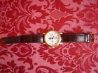 EXTREMELY RARE HEAVY SOLID GOLD 18CT LONGINES COMPLICATED WATCH