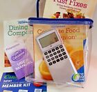 Weight Watchers Weight Loss Kit Bundle 2010 With Case and Point Calculator