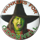 Tea Party Witch Christine ODonnell from 2010 Campaign Pinback