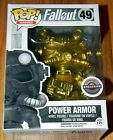 NEW FUNKO POP GOLD POWER ARMOR Fallout Game Stop Black Friday EXCLUSIVE CHASE