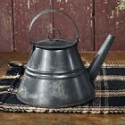BRAND NEW!!! Primitive Country Farmhouse Vintage Style Granny's Tea Kettle