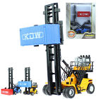 150 Scale Diecast Empty Container Stacker Forklift Truck Cars Model Toy KDW