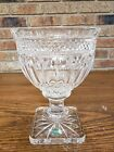 Shannon Lead Crystal Pedestal Centerpiece Bowl Heavy FREE Shipping