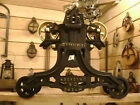 Antique Vintage Cast Iron FE Myers Hay Trolley Farm Barn Pulley Unloader Carrier