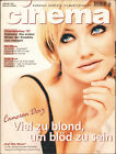 CAMERON DIAZ COVER HUGH GRANT MEL GIBSON GERMAN CINEMA MAGAZINE JANUARY 1997