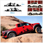 2 Pcs Car Off Road Snow Mountain Vinyl Decal Sticker 198x43cm 78x17 Large Size