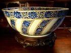 CHINESE EXPORT BOWL LARGE 18TH CENTURY