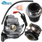 Carburetor 26mm Air Filter for GY6 150cc ATV Go Kart Scooter Kazuma Taotao SunL