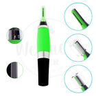 New All In One Personal Ear Nose Neck Eyebrow Hair Trimmer Groomer Remover Green