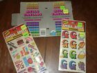 Lot of Vintage Mello Smellos Scratch n Sniff Smelly Stickers Letter G Birthday