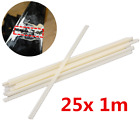 25pcs 1m ABS Welding Rod Motorcycle Plastic Body Fairing Repair Soldering Wire