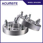 2PC 125inch Wheel Spacers Adapter 5x45 to 5x5 for Jeep JK TJ YJ KK SJ XJ Ford