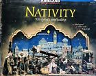 Kirkland Nativity Signature 20 Piece set 3 Panel BD Hand Painted Fabric RARE