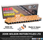MZ/MUZ Skorpion 660 Tour 1995 Orange RK X-Ring Chain 520 XSO 110 Link