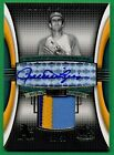 2004 SP Game Used ROLLIE FINGERS AUTOGRAPH PATCH Athletics 36 50