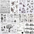 Transparent Silicone Clear Rubber Stamp Cling Diary Scrapbooking DIY Card Decors