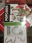 Christmas Santa Popcards Art Impressions Clear Stamp and Die Set SC0803 NEW