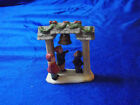 Vintage Lemax Village Collection  Porcelain Town Bell 13013