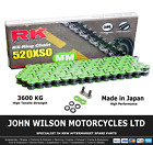 Beta Alp 40 350 2004 - 2015 Green RK X-Ring Chain 520 XSO 112 Link