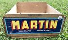 OLD VINTAGE WOOD-WOODEN GRAPE PRODUCE BOX CRATE